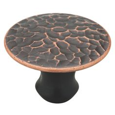 Brainerd�1-in Bronze w/Copper Highlights Round Cabinet Knob