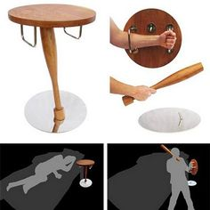 Bedside table / weapon
