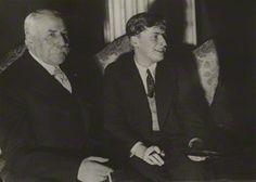 Sir Edward Elgar & Yehudi Menuhin | by Aram Alban #composer #violinist