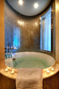 Dream bath tub #casas #baño #decoracion #arquitectura