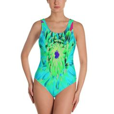 Items similar to Swimsuit, Swimsuits for Women, Aqua Cactus Dahlia Abstract Macro Flower, One Piece Plus Size Women's Swimwear, Bodysuit on Etsy Pink Succulent, Macro Flower, Selling Handmade Items, Turquoise Flowers, Swimsuits For All, Workout Shirts, Dahlia, One Piece Swimsuit, Plus Size Women