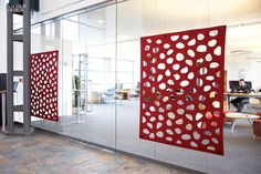 acoustic solution for glazing (Unika Vaev) - 61 New Fabrics and Wallcoverings