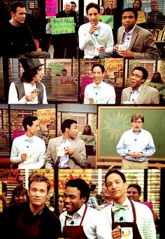 """Troy and Abed in the morning!"" - Community"