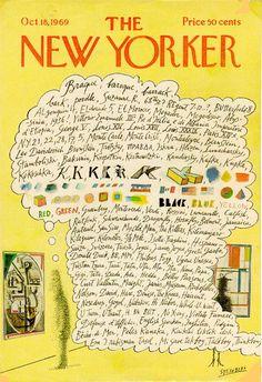 modern art, New Yorker cover.