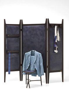 Stunning wardrobe paravent HyperFocal by fine Italian artistic carpentry…