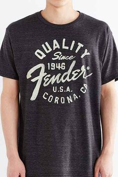 Fender Quality Seal Tee