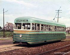 Atlantic City Brill Trolley built in 1938
