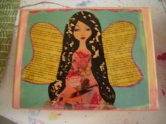 I Believe in Fairies  small cardstock art box by eltsamp on Etsy, $18.00