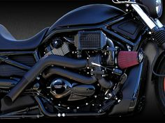 *V-Rod Turbo System 02 -13 Intercooled System (Black Shown) NON MUSCLE