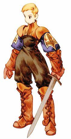 FInal Fantasy Tactics Argath Thadalfus (aka Algus Thadalfus)