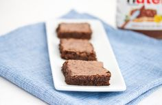 Flourless Nutella Brownies | Kirbie's Cravings | A San Diego food & travel blog
