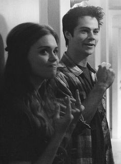 Holland Roden, Lydia, Teen Wolf, Dylan O Brien, Stydia Teen Wolf Scott, Lydia Teen Wolf, Stiles Teen Wolf, Teen Wolf Stydia, Stiles And Lydia, Teen Wolf Boys, Teen Wolf Memes, Teen Wolf Quotes, Teen Wolf Funny