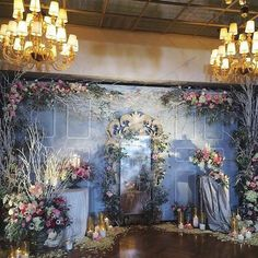 Most Pinned Wedding Backdrop Ideas For Your Big Day! Wedding Stage, Diy Wedding, Wedding Events, Elegant Wedding, Weddings, Flower Backdrop, Ceremony Backdrop, Wedding Decorations On A Budget, Photo Corners