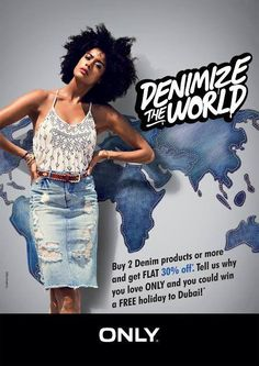 Irresistible Offer.... Denimize The World from 15th May #Only #ForumCourtyard