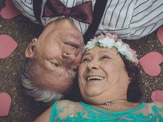 Dirce e Nestor completam 50 anos de casados neste ano (Foto: Camille Braga). Veja mais fotos http://glo.bo/1Qse9xL #G1 #casamento #amor #bodas #wedding