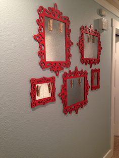 Dolen Diaries: kid art gallery magnetic frames