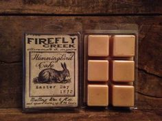 6oz. Large Aroma Bar Melting wax scented in by fireflycreekcandles, $5.00