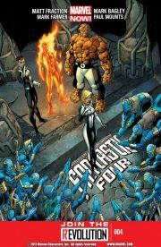 Fantastic Four Vol. 2 #4    An alien world, a thousand-year-old prophesy--is the Invisible Woman a long-awaited intergalactic messiah?