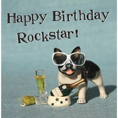 Happy Birthday Rockstar #compartirvideos #videowatsapp