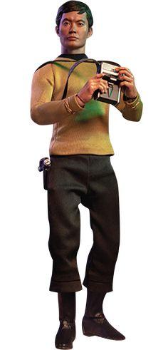 Star Trek Hikaru Sulu Sixth Scale Collectible Figure The Punisher, Star Trek Collectibles, Sideshow Collectibles, Chucky, Freddy Krueger, Luke Skywalker, Aquaman, Arya Stark, Jon Snow