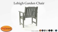 The Lehigh Garden Chair is part of the Lehigh Collection and is a beautiful and functional chair that is extremely comfortable.