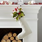 Mistletoe Stocking
