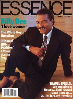 BILLY DEE WILLIAMS, APRIL 1990