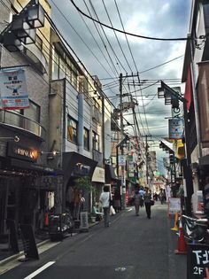 """When you walk down the Streets of Tokyo, you feel like you have submerged into an anime.  東京の街に歩いって、本当にアニメを飛び込むという感じになる。 #Shimokitazawa (""""From the Streets of Tokyo""""; By: SamSam Here)"""