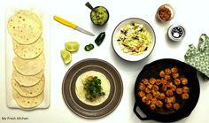 Shrimp Tacos Shrimp Tacos, Curry, Ethnic Recipes, Food, Gourmet, Meal, Essen, Hoods, Curries