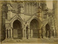France, Chartres, la Cathédrale vintage albumen print, France Tirage albuminé  | Collections, Photographies, Anciennes (avant 1900) | eBay!