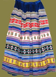 Dazzling Red, Black and Turquoise, Two Row Seminole Patchwork Skirt – Deborah Garner Collection Native American Clothing, Native American Regalia, American Indians, Seminole Patchwork, Seminole Indians, Ribbon Skirts, Patchwork Designs, Black N Yellow, Clothes For Women