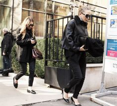 olsendaily: Ashley and Mary-Kate in Paris, spring 2014 (via olsensobsessive.com)
