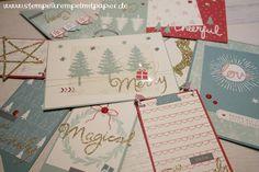 """Stempelkrempel mit Papier : Kreative Weihnachtsdekoration mit Project Life """"Hallo Dezember 2015"""""""