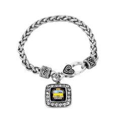 School Bus Charm Bracelet - a sterling silver bracelet