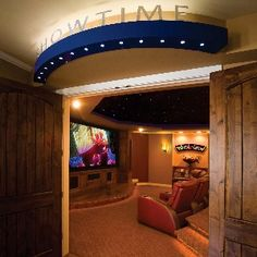 This octagon theater bends home theater rules