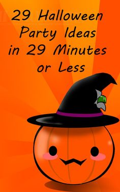 Finding unique ideas for your Halloween party with your troop or class isn't always easy. Especially when you're limited on time! Here are 29 Halloween party ideas that take 29 minutes or less.