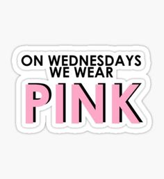 High quality Mean Girls gifts and merchandise. Inspired designs on t-shirts, posters, stickers, home decor, and more by independent artists and designers from around the world. Stickers Cool, Bubble Stickers, Phone Stickers, Printable Stickers, Mean Girls Party, Mean Girls 2, Chuck Norris, Clueless Quotes, Homemade Stickers