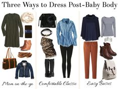 Como se vestir no pós parto e se sentir magra
