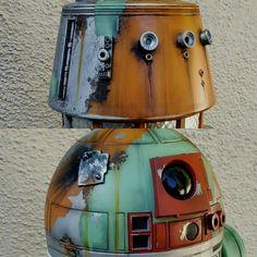 Guerra Dos Clones, Star Wars Droids, Bb8, Star Wars Ships, Paint Ideas, Stars, Artwork, Model, Life