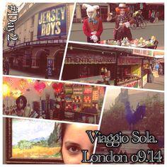 Londra. Viaggio sola. | To see the World