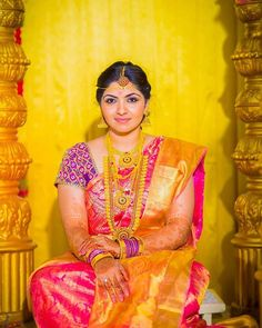 Indian Groom, South Indian Bride, Indian Wedding Wear, Indian Weddings, Kurti Sleeves Design, Indian Outfits, Indian Clothes, Bride Portrait, Indian Wedding Decorations