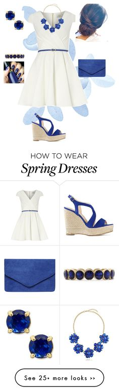 """""""Spring in Blue"""" by kara-coleman on Polyvore"""