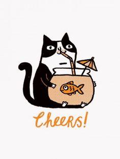 Cheers! Print
