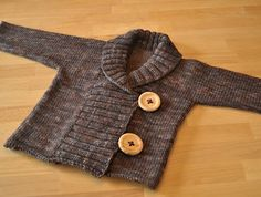 Ribbed Baby Jacket free knitting pattern                                                                                                                                                                                 More