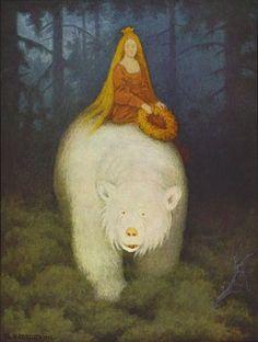theodor kittelsen, Hvitebjørn Kong Valamon, Norwegian painter