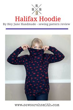 Halifax Hoodie by Hey June Handmade