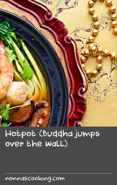 Hotpot (Buddha jumps over the wall) Ham Dishes, Dishes Recipes, Meal Recipes, Food Dishes, Chicken Ham, Oven Chicken Recipes, Yum Yum Chicken, Protein Rich Foods, High Protein Recipes