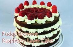 Strawberries And Bluers Fresh Cream Cake