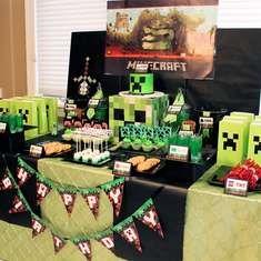 Minecraft parties.