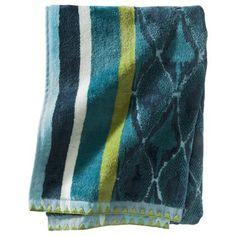 $9.74 Threshold™ Cool Pattern Mix Towel - Blue